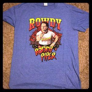 Vintage WWE WWF Rowdy Roddy Piper T-shirt